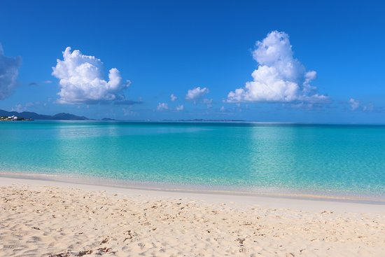 West End Village, Anguilla: Spend the day on our beautiful beach.