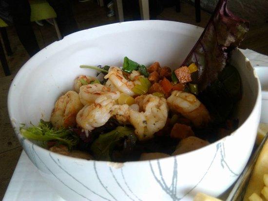 Μπάντρι, Ιρλανδία: Scampi salad