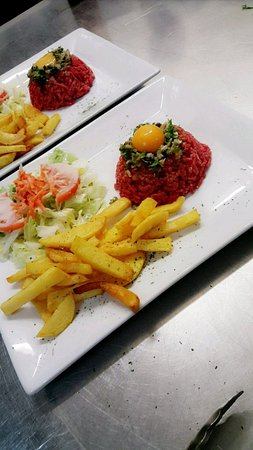 Альфорвиль, Франция: Tartare du chef (charolais)