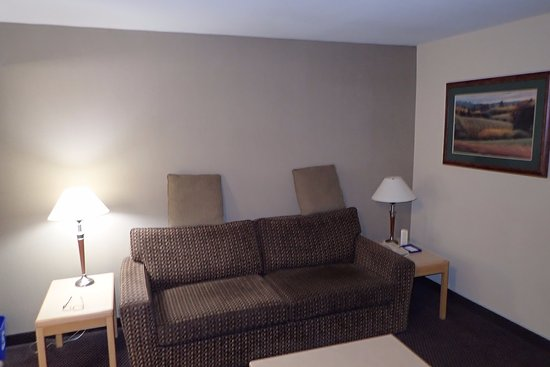 Delta, Kanada: Our room sitting area