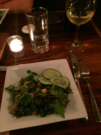 The Tailor and The Cook: Salad features greens from a local farm