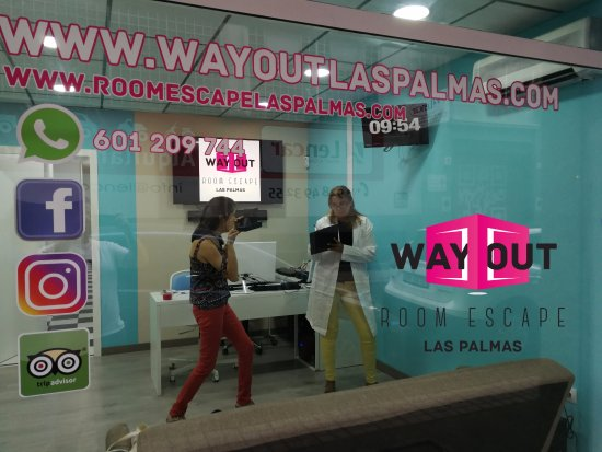 ‪Wayout Room Escape Las Palmas‬