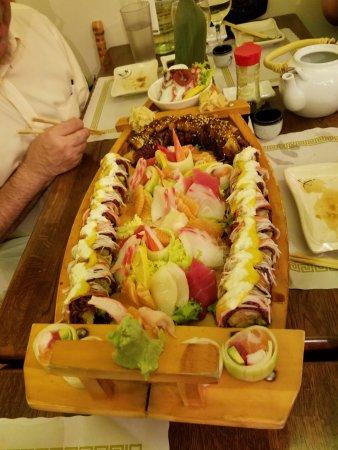 Montclair, NJ: Sushi Boat.
