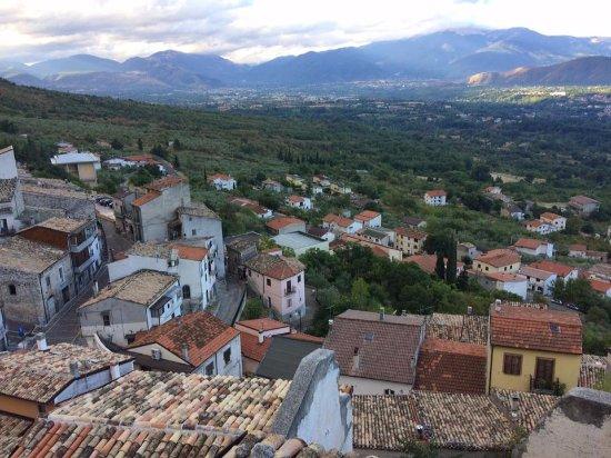 Roccacasale, อิตาลี: Udsigt fra mit værelsesvindue
