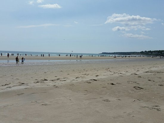 Ogunquit Beach: My unobstructed view of the ocean