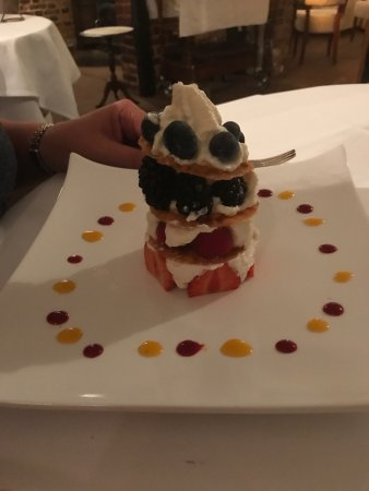Herstmonceux, UK: From our wonderful meal