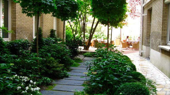 Hotel Magellan: la terrasse de l'hôtel