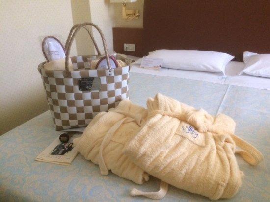Hotel Garden Terme: Kit all'arrivo