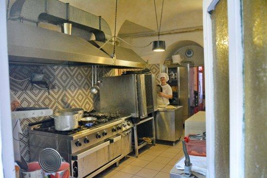 La Loggia dei Priori : Cucina