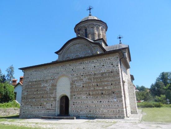 Curtea de Arges, Rumänien: L'ingresso