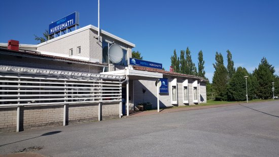 Kokkola, Finland: Front of the Hotel