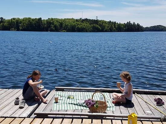 Elliot Lake, Canada: Enjoy our Take Out Menu on our Dock, or in the luxury of your own home