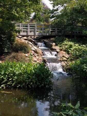 Petersburg, KY: Garden Interpretation Waterfall