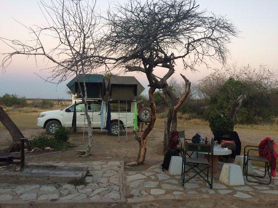 Windhoek, Namibia: Véhicule 4x4 avec les tentes