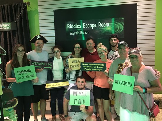 Riddles Escape Room Myrtle Beach