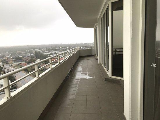 Scarborough, Australia: Spacious balcony