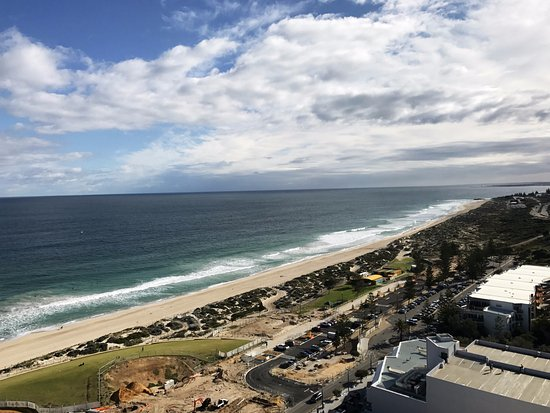 Scarborough, Australia: View from our suite
