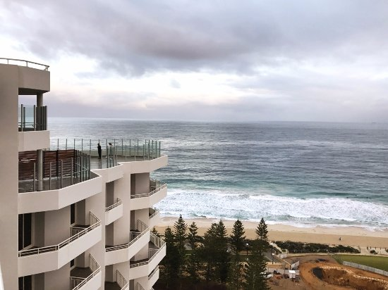 Scarborough, Australia: Observation deck on the 24th floor