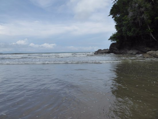 Ballena, Costa Rica: beach north side
