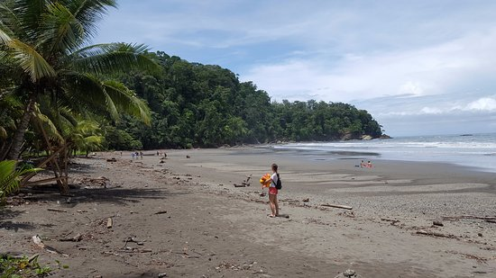 Ballena, Costa Rica: looking south