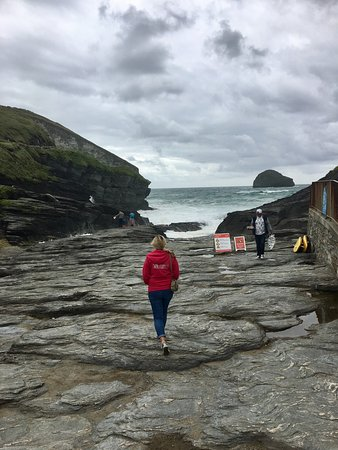 Trebarwith, UK: photo0.jpg