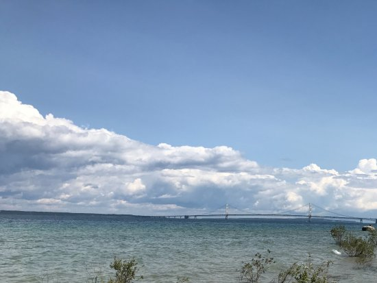Mackinaw City, MI: Mackinaw Straights and Bridge