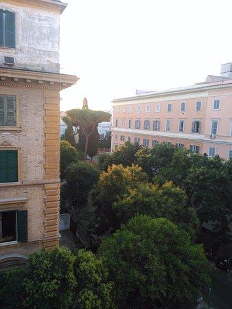 Residenza dei Quiriti : Vistas desde la habitación