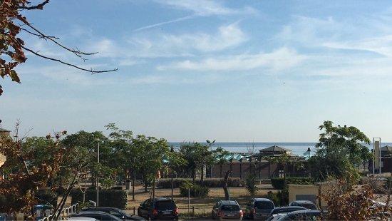 San Giuliano a Mare, Italia: La super colazione e la vista dalla veranda