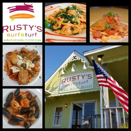 Pasta, Seafood and Steaks In Buxton on Hatteras island / Seafood in Hatters Island