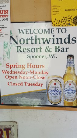 Spooner, WI: New sign
