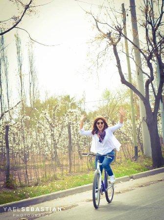 Maipu, Argentina: Paseo en bicicleta en invierno