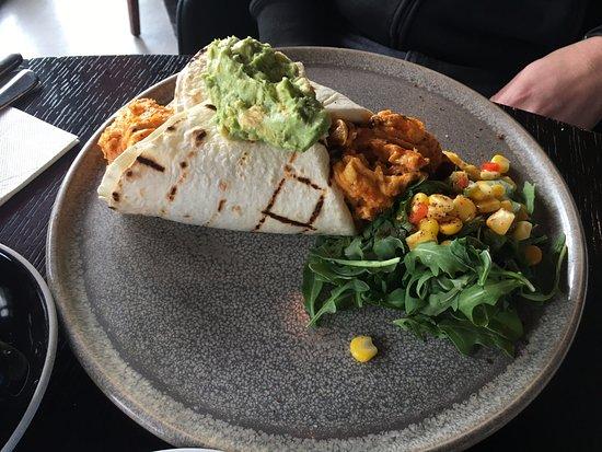 Richmond, Australia: Breakfast burrito