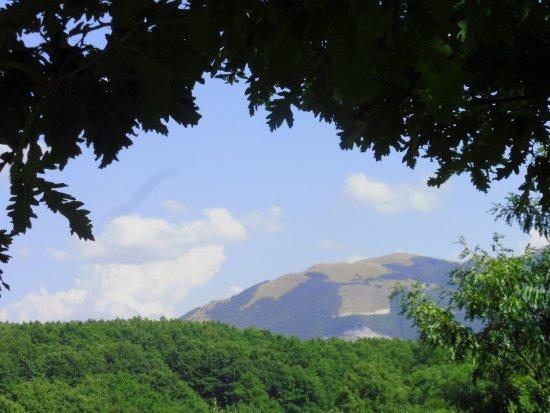 Nocera Umbra, İtalya: il monte Pennino visto da Pian delle Stelle