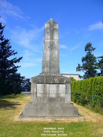 Point Roberts, WA: Monument Park