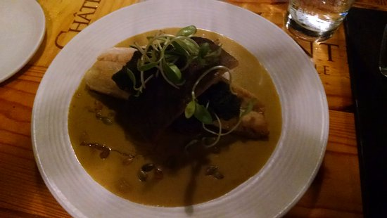 Columbia, MO: Trout in curry sauce - wonderful