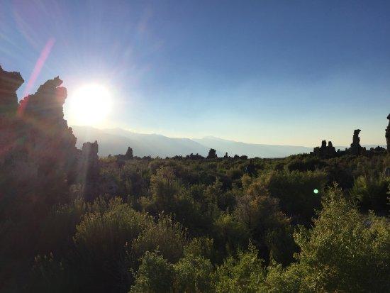 Lee Vining, Kalifornien: Sunset at Mono Lake