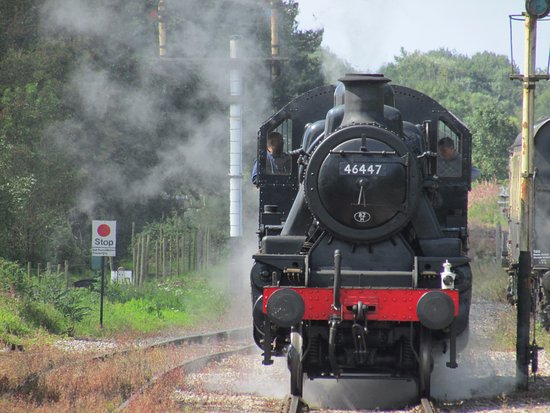 Shepton Mallet, UK: The loco