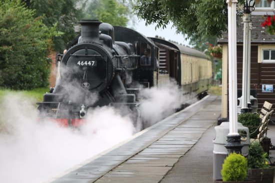 Shepton Mallet, UK: Steam up!