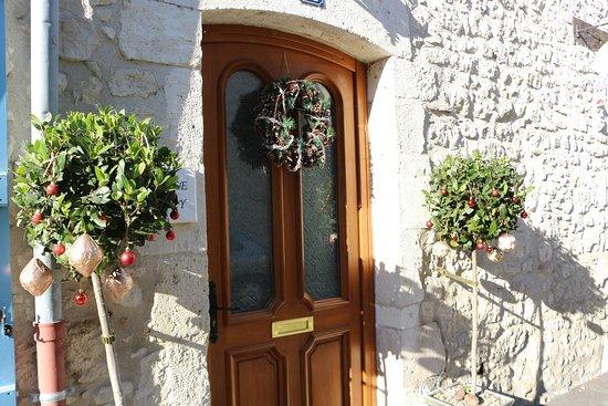 Eymet, Frankrig: front entrance