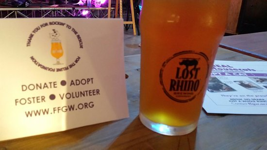 Эшберн, Вирджиния: Thank you to Lost Rhino for hosting a fundraiser for Feline Foundation!