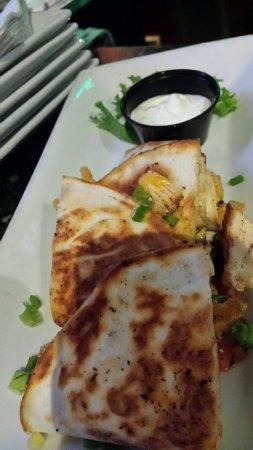 Sterling, VA: Chicken quesadilla, too small!