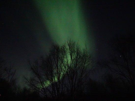 Ivalo, Suomi: Polarlicht