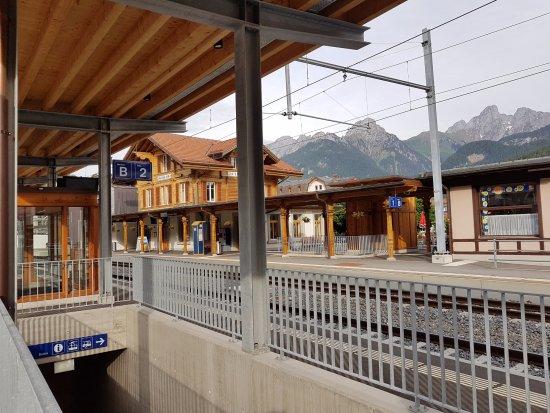 Hôtel de la Poste : Вокзал в поселке. Мы были на станции одни))