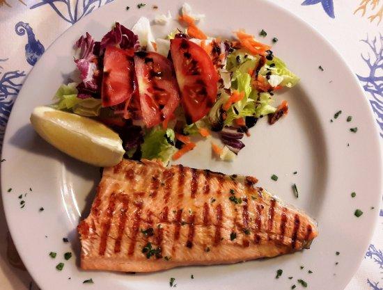 Al Portec: Grilled trout fillet