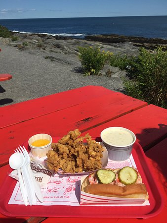 The Lobster Shack at Two Lights