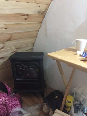 Pensilva, UK: Heating for room