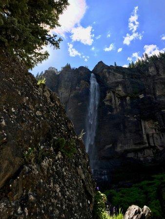 Telluride, CO: below Bridal Veil falls