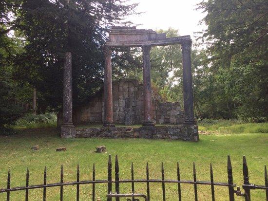 Virginia Water, UK: Roman ruins