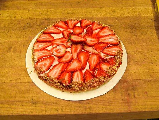 Gustavus, AK: Strawberry Cheesecake