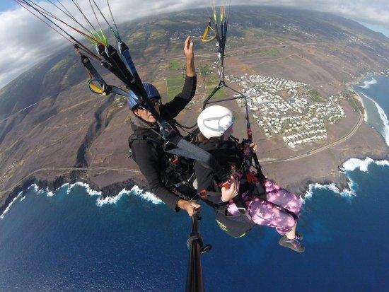Saint-Leu, Reunion Island: Planète parapente du 12 août 2017